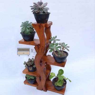 Prateleira para suculentas estilo arvore Suporte para Plantas, Expositor de Plantas imagem