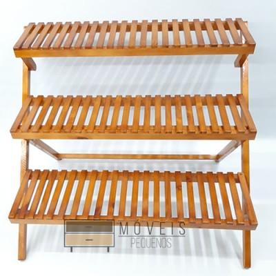 Estante para plantas tipo escada 90 centímetros imagem