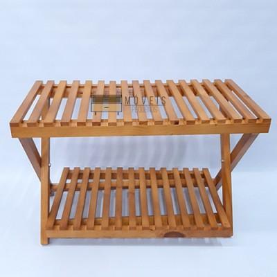 Estante para plantas modelo 30 feito em madeira imagem